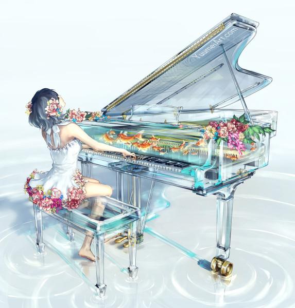 art-барышня-красивые-картинки-Wenqing-Yan-artist-3622435