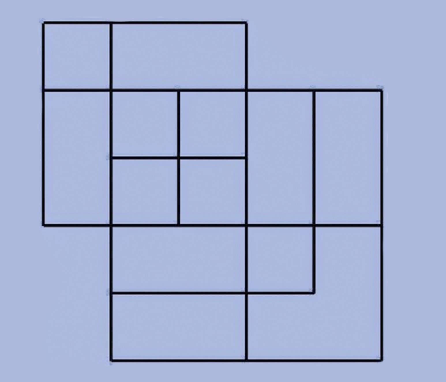 задача сколько квадратов на картинке ответ