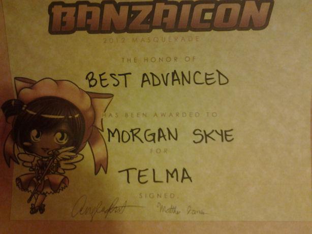 banzaicon 2012 award