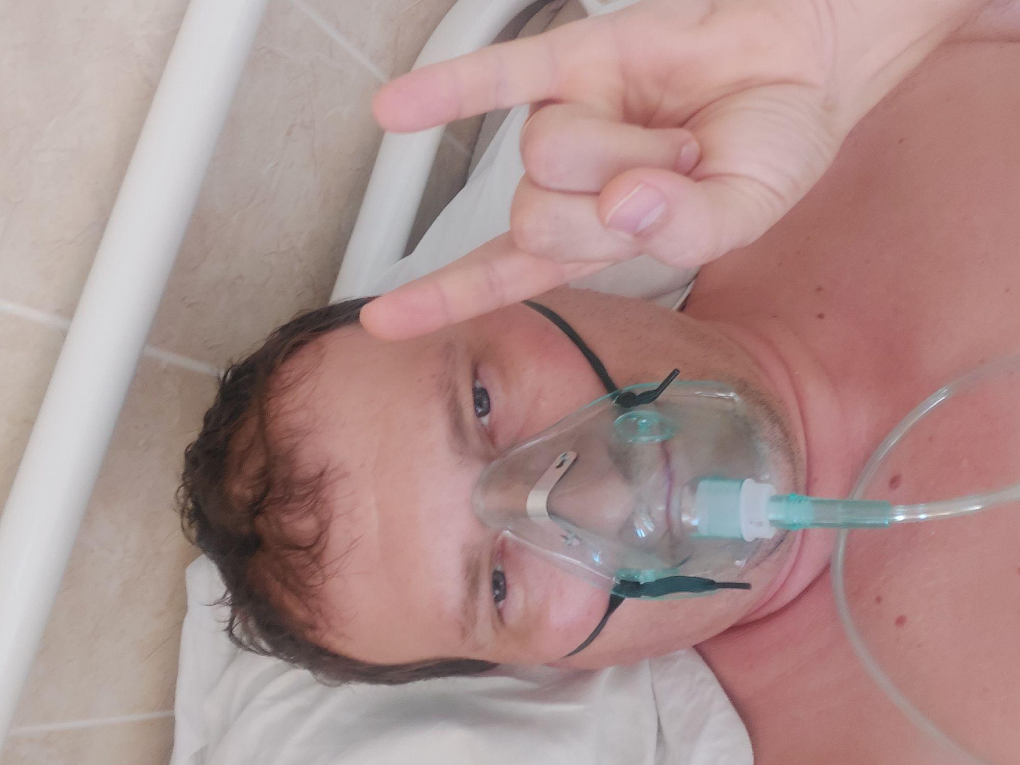 Без кислородной маски порой дышать трудно.