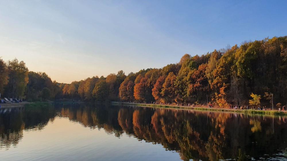 А это - первое озеро Щелковского хутора