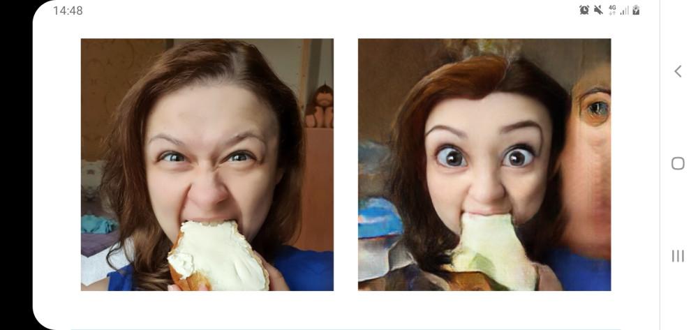 Бгг!) Пожирательница бутеров)))