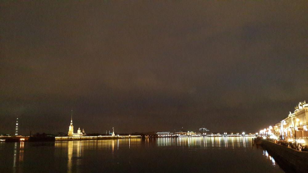 Петропавловская крепость, Санкт-Петербург, январь 2018