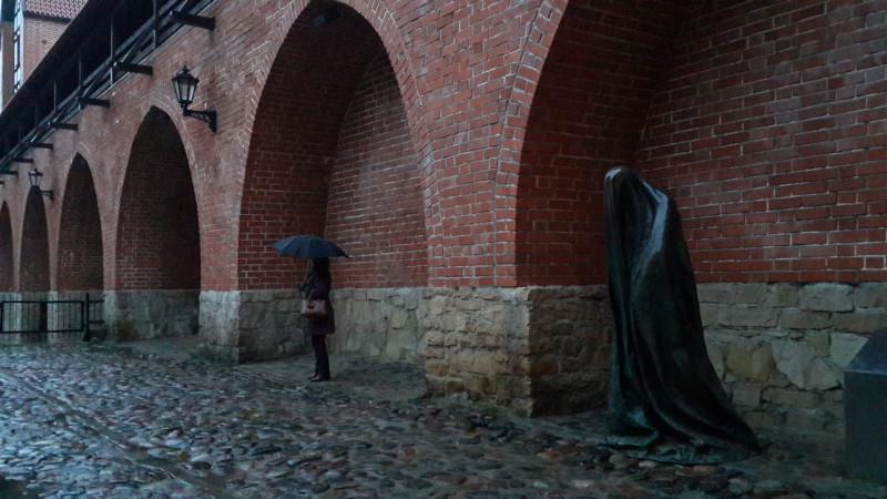Призрак в Риге, Латвия, январь 2018
