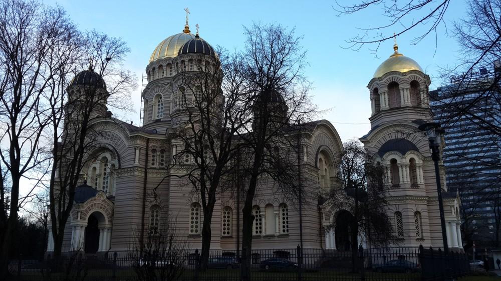Собор Рождества Христова, Рига, Латвия, январь 2018