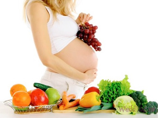 питание беременной для похудения