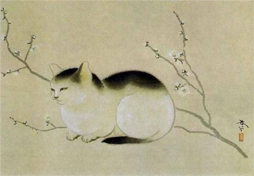 cat-hishida-shunso-wikipaintingsorg-1379424456_b
