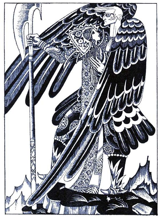 Red Magic - King of Eagles Kay Nielsen