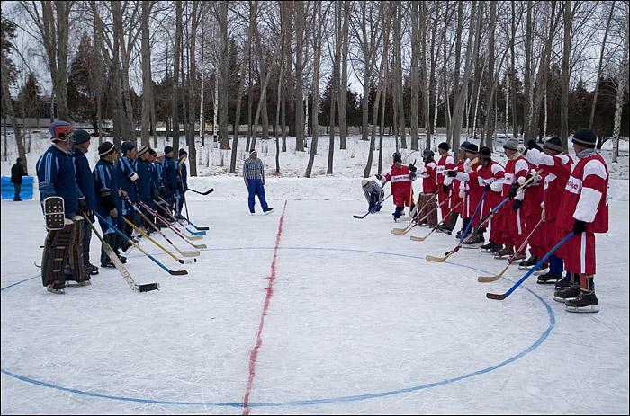 Kyrgyz Hockey, photo by Elena Skochilo