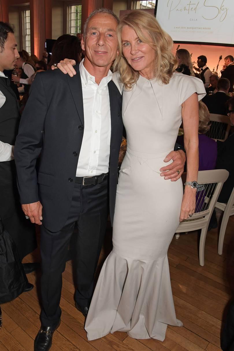 С женой Сереной, 2019