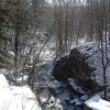 Clinton Brook, as seen from Clinton Road