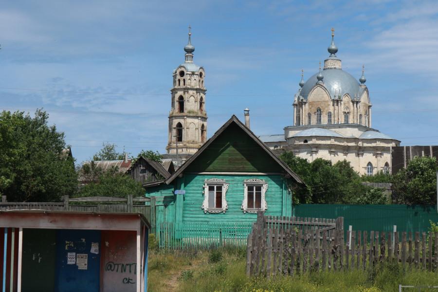 """Гусь-Железный и Погост: """"недеревенские"""" храмы Рязанщины"""