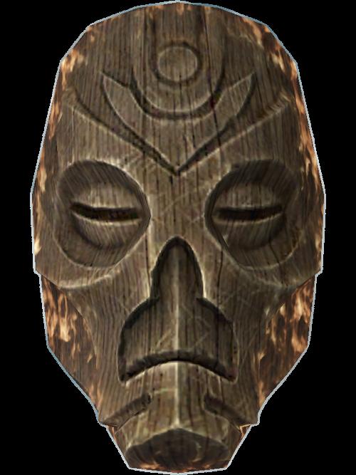 деревянный фейс