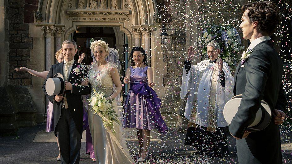 шерлок свадьба