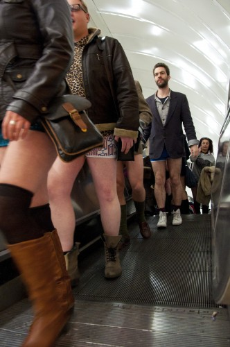 no pants day london