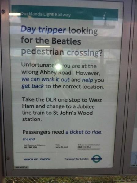 Abbey Road в Лондоне
