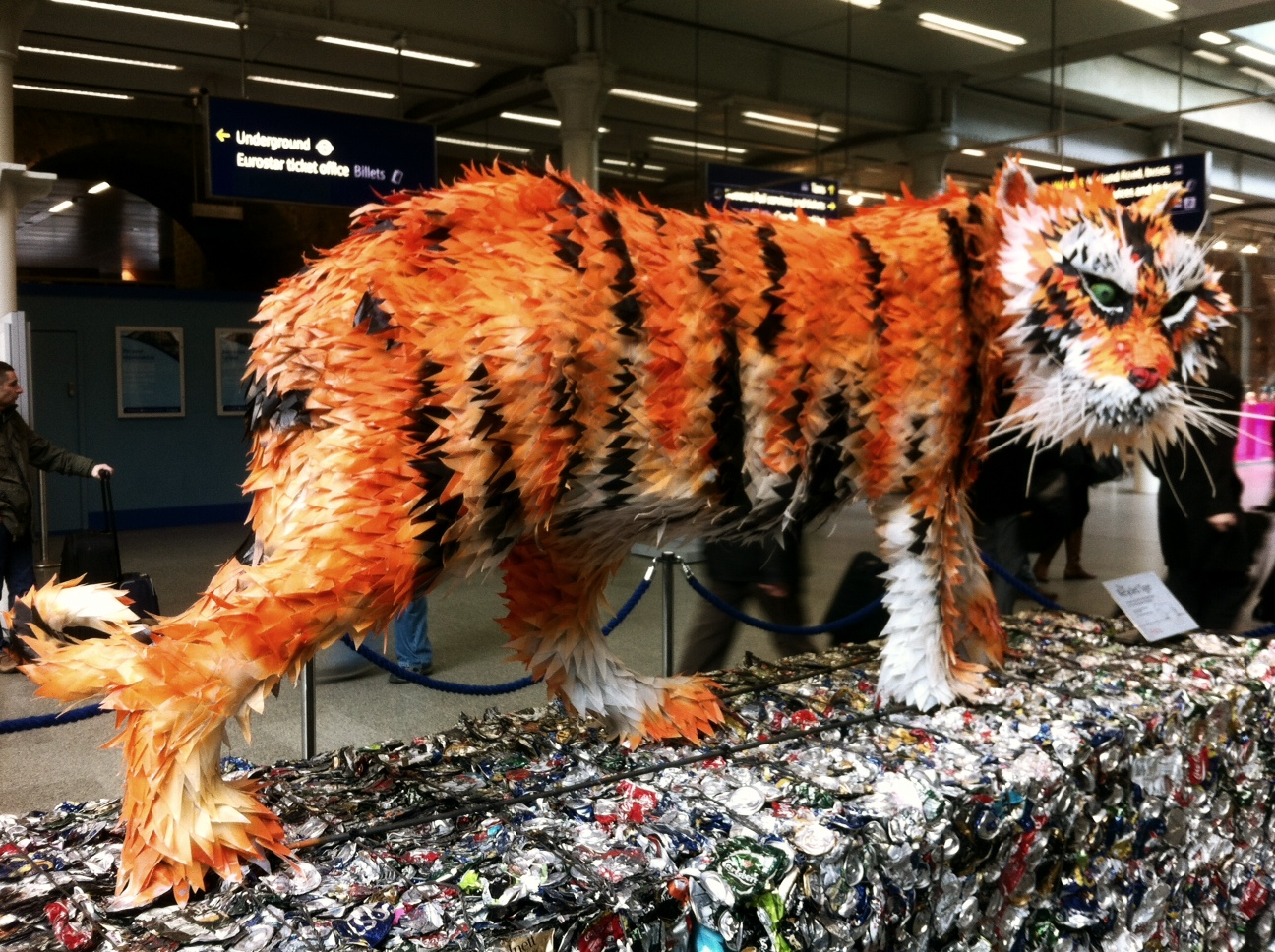 Tiger st Pancras
