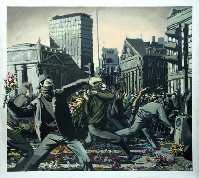 8 марта banksy