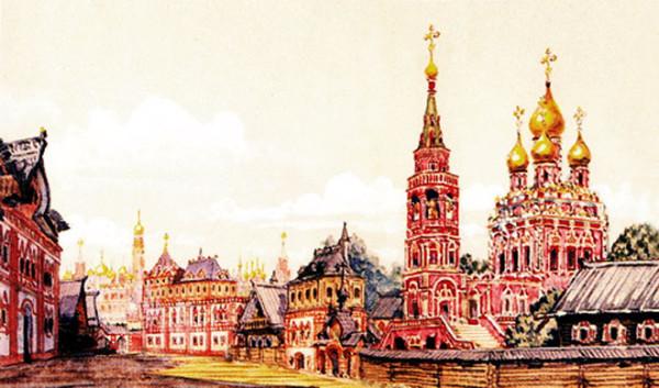По землям московских слобод