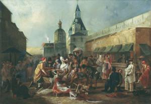 3. Астрахов В.Е. Обжорный ряд у Китайгородской стены в Москве