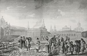 8. Красная площадь в 1762 году