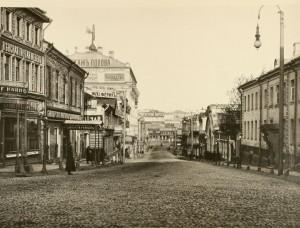 17. Кузнецкий Мост в 1884 году