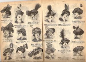 24. Страница каталога магазина Мюр и Мерелиз 1912 года