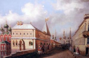 18. Улица Ваварка в XIX веке