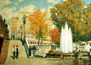 Александровский сад и Манежная площадь 1
