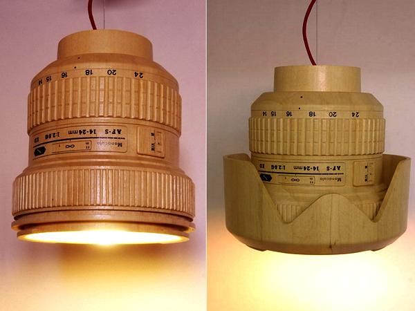 пике светильник в форме объектива фотоаппарата виго