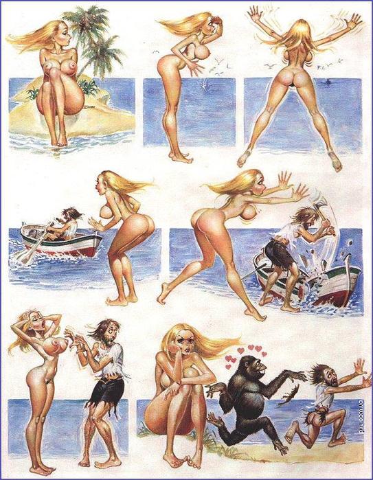 секс рассказы необитаемый остров