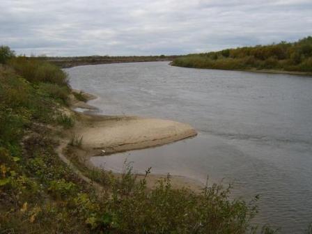 Река Мокша в Мордовии