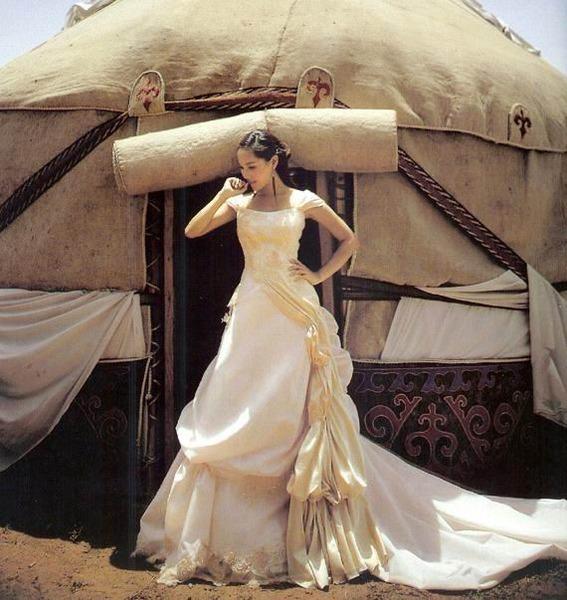 Казахская девушка