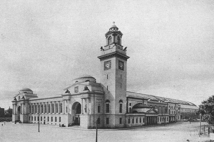 Брянский вокзал 1920-е