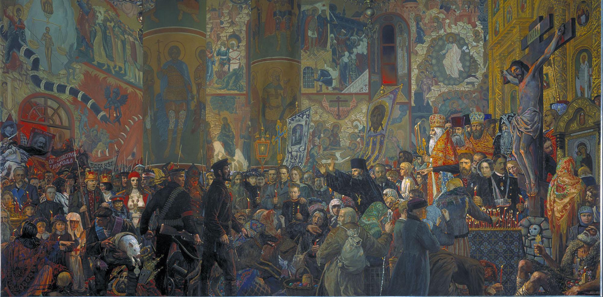 Разгром Храма в Пасхальную ночь