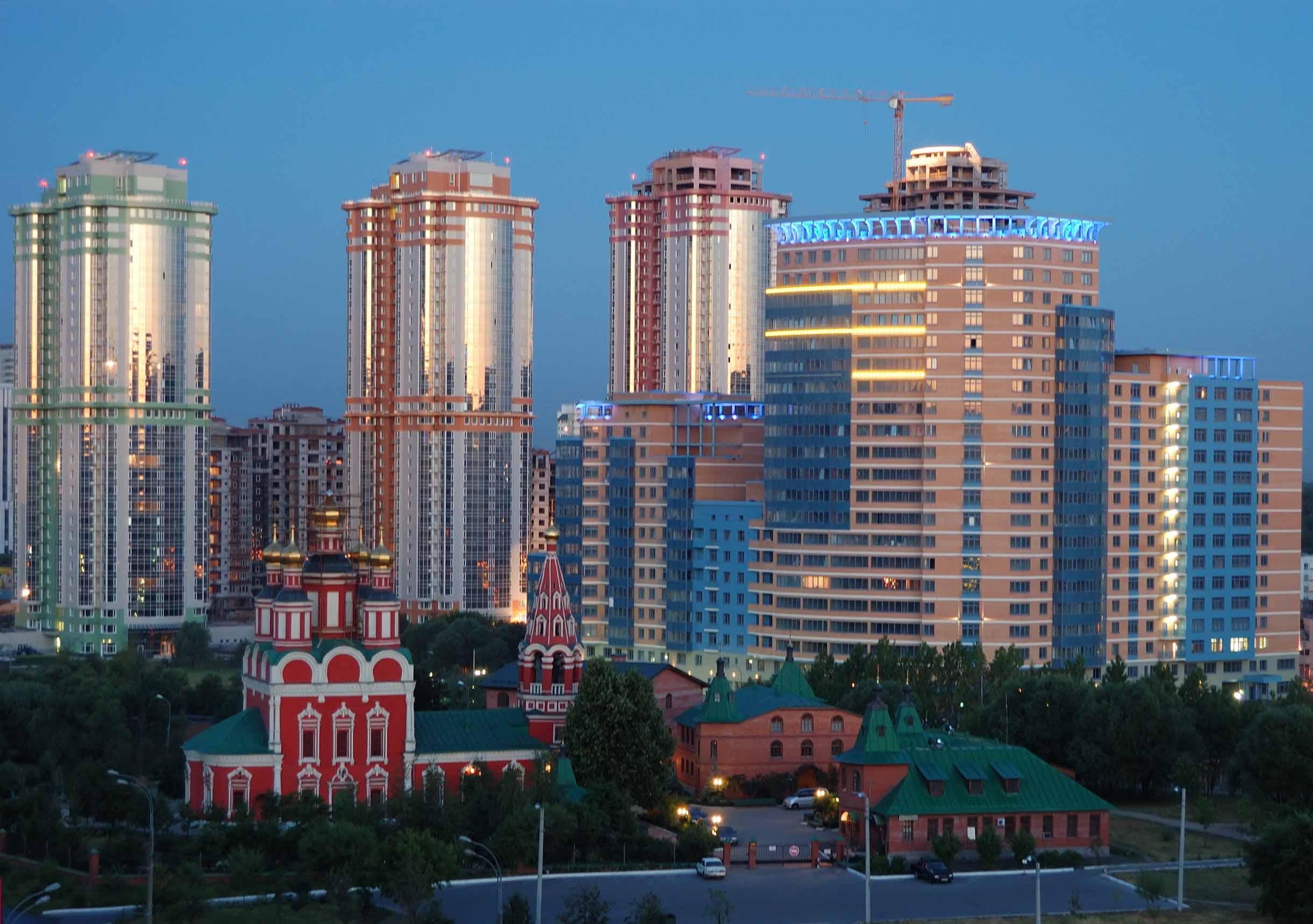 Новостройки в Москве -  точечной застройки больше не будет