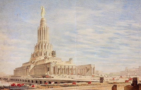 Нереализованные проекты сталинской эпохи - триумф советской архитектуры