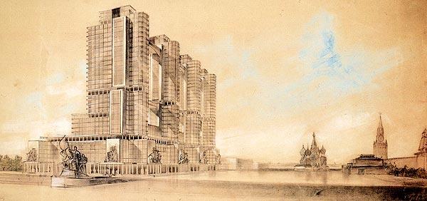 Нереализованные проекты сталинской эпохи (5)