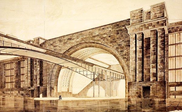 Нереализованные проекты сталинской эпохи - Дворец Техники