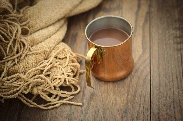 плед и кофе