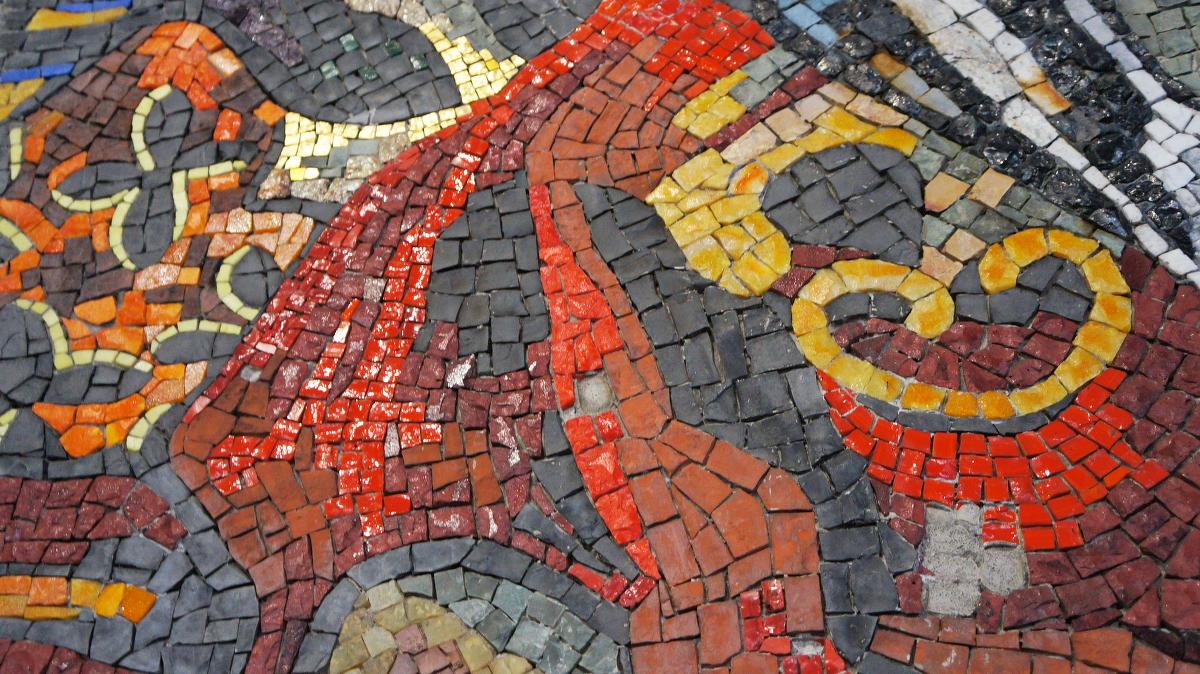 Мозаика в архитектуре. СССР, Россия, Украина, Швейцария, США