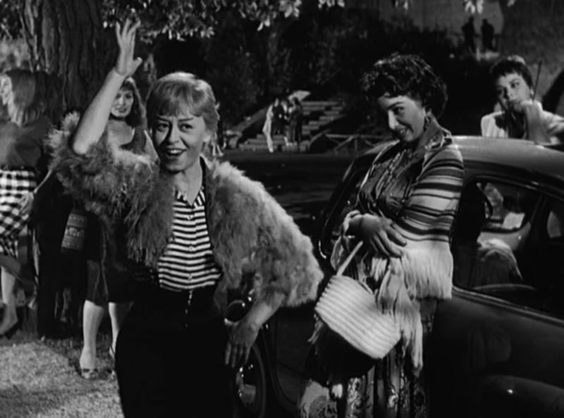 "Кадр из фильма ""Ночи Кабирии"" 1957"