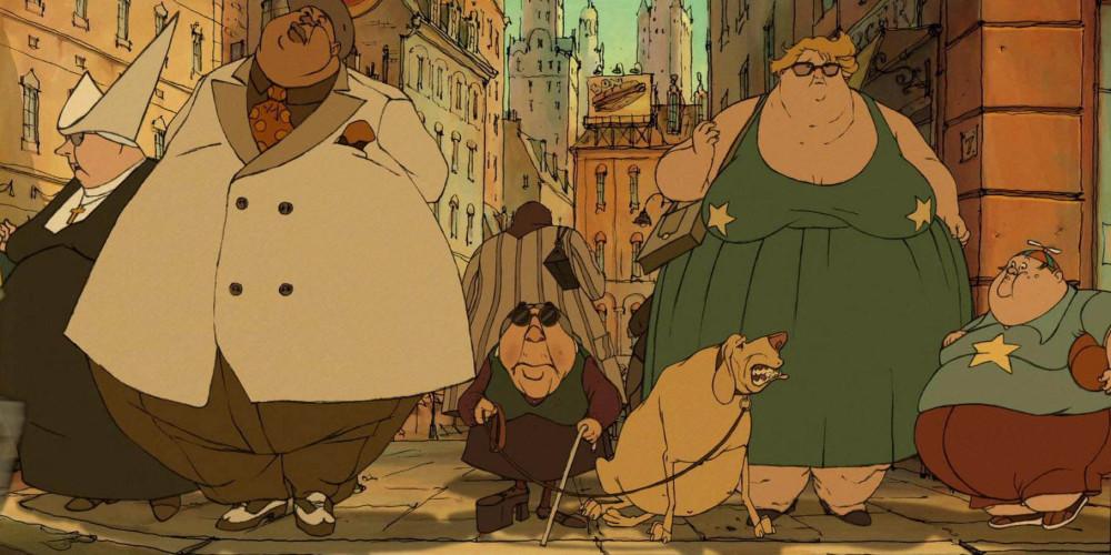 """""""Трио из Бельвилля"""" 2003"""