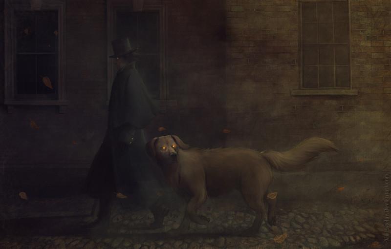 Ночь в тоскливом октябре, Роджер Желязны. Фото с serial-wod.ru