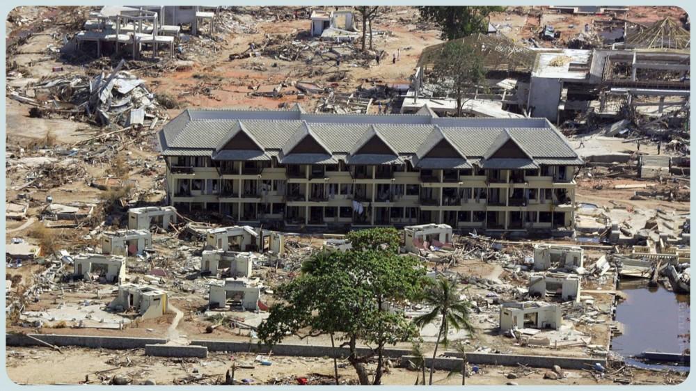 Курорат Khao Lak в Таиланде после цунами в 2004 году