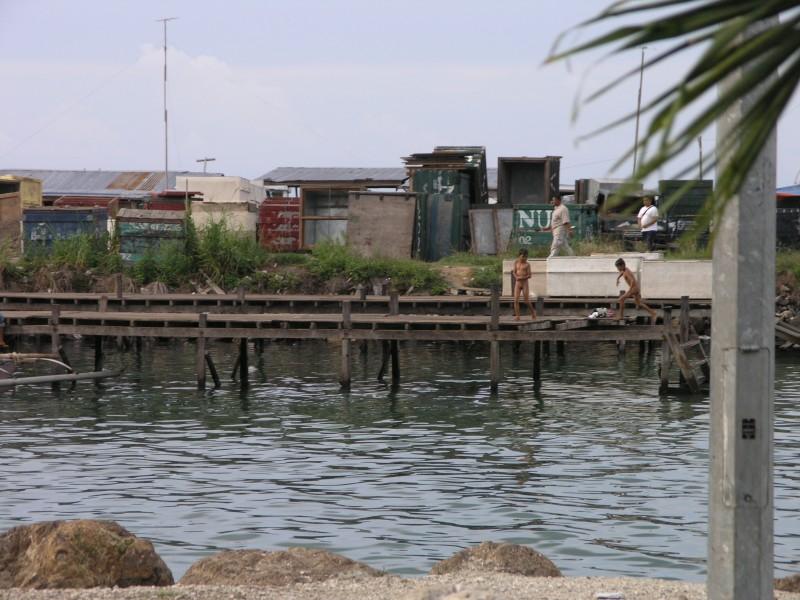 Остров Сипадан, Малайзия, побережье для местных.