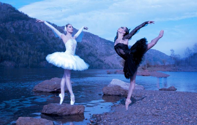 """Балет """"Лебединое озеро"""", из афишы Красноярского государственного театр оперы и балета"""