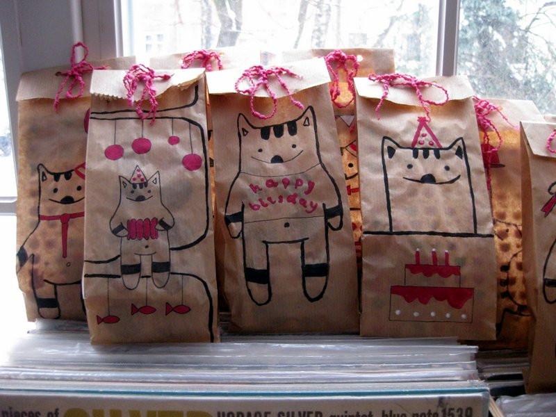 подарки гостям на детском дне рождения
