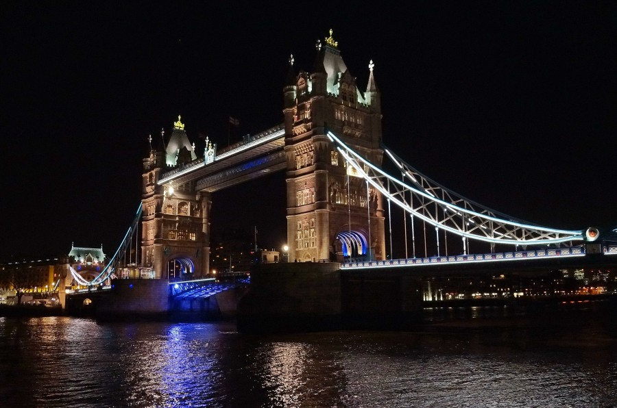 07.12.14 - Tower Bridge at night. London