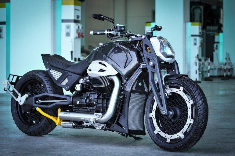 итало-российский мотоцикл Волк
